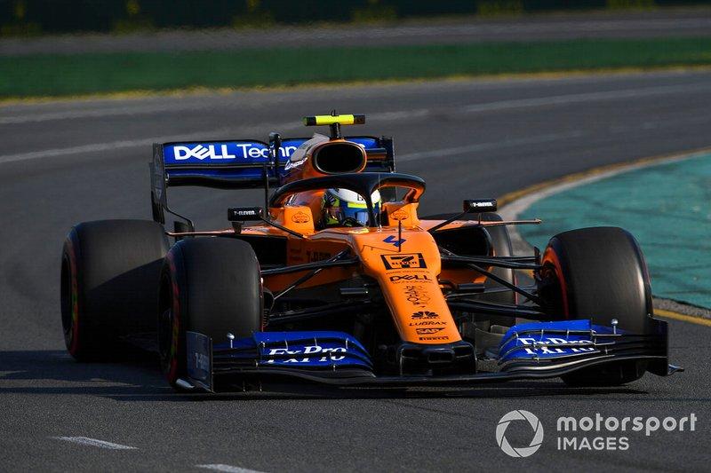 12. Lando Norris, McLaren MCL34