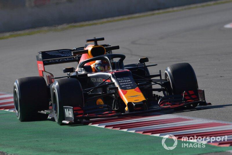 17º Max Verstappen, Red Bull Racing RB15, 1:17.709 (neumáticos C3, día 8)