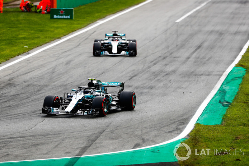 Bottas wordt gevraagd in formatie te rijden met Hamilton