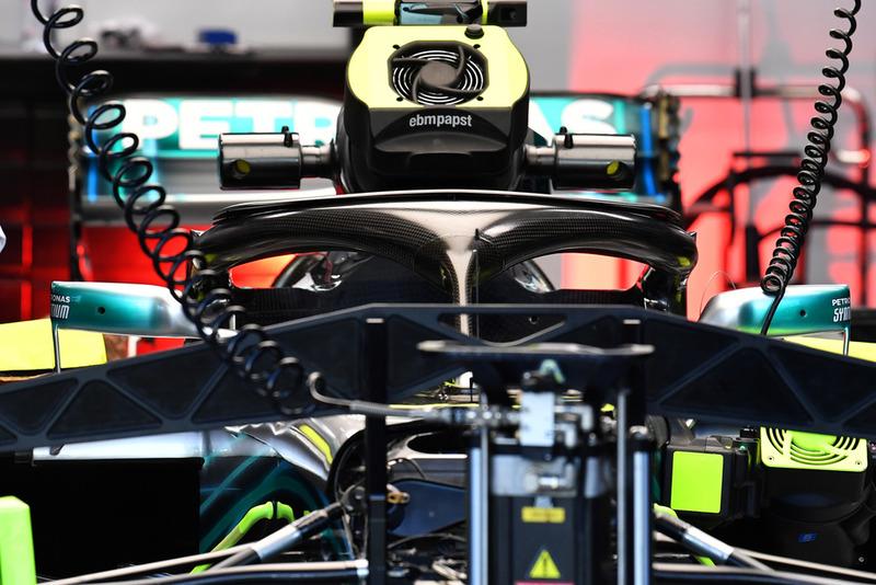 Mercedes-AMG F1 W09, Halo