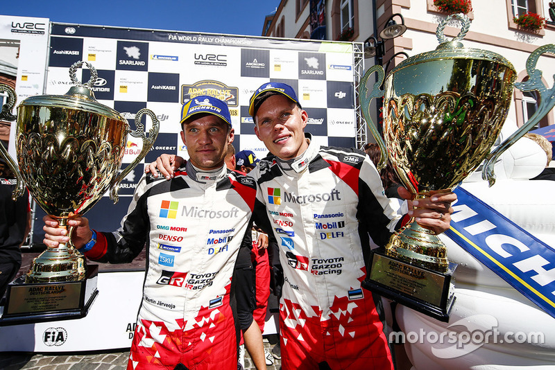 Ganadores: Ott Tanak, Martin Järveoja, Toyota Yaris WRC, Toyota Gazoo Racing