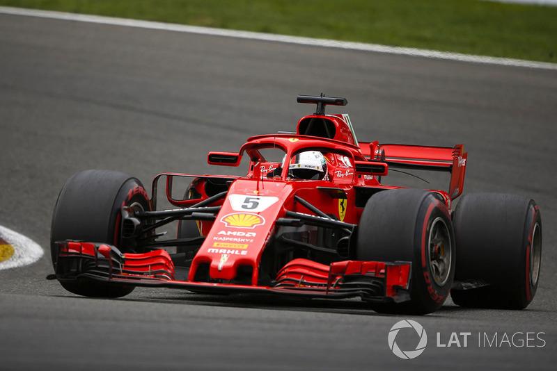 GP de Bélgica Sebastian Vettel