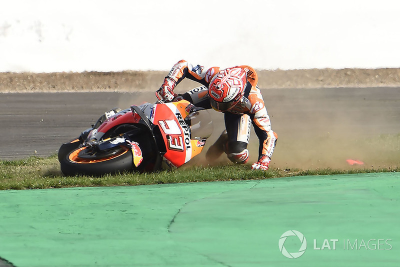 Аварія Марка Маркеса, Repsol Honda Team