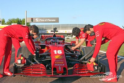 Leclerc sulla SF1000