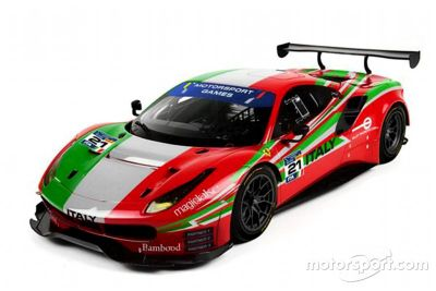 Livrea Roda FIA Motorsport Games