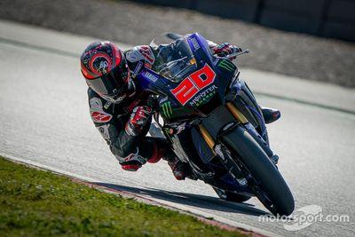 MotoGP-Piloten testen in Barcelona