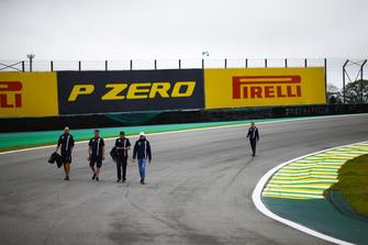 Ознакомление с трассой: Эстебан Окон, Racing Point Force India F1