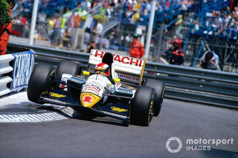 Johnny Herbert, Lotus 107C Mugen-Honda