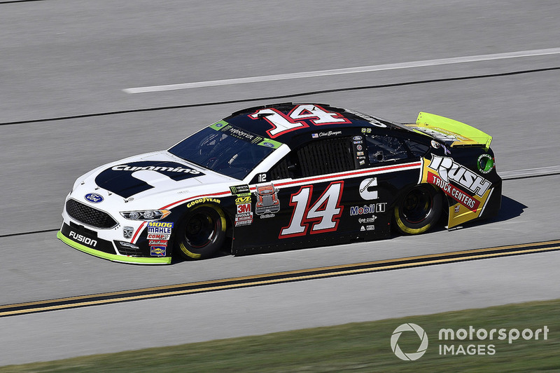 2. Clint Bowyer, Stewart-Haas Racing, Ford Fusion Cummins/Rush Truck Centers
