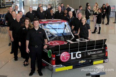 Gus Dean LG NASCAR truck feature