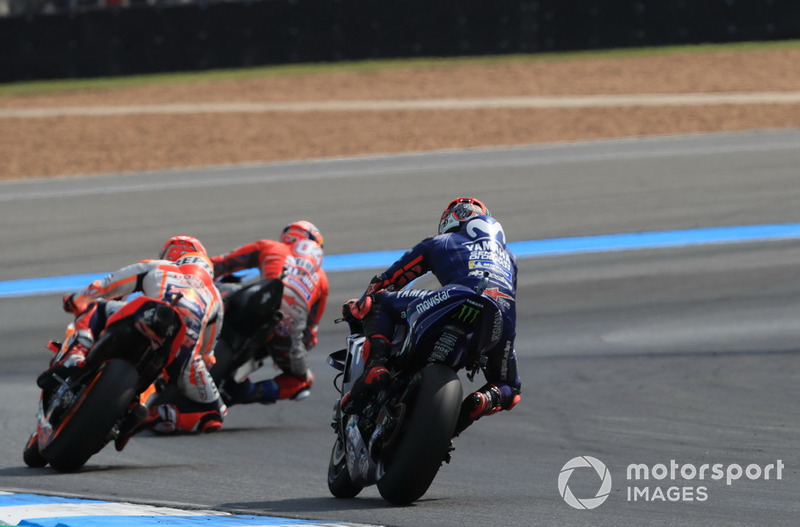 Andrea Dovizioso, Ducati Team, Marc Marquez, Repsol Honda Team, Maverick Viñales, Yamaha Factory Racing, MotoGP