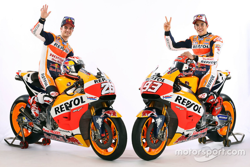 Марк Маркес, Repsol Honda Team и Дани Педроса, Repsol Honda Team