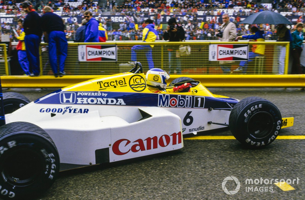Keke Rosberg, Williams FW10 Honda