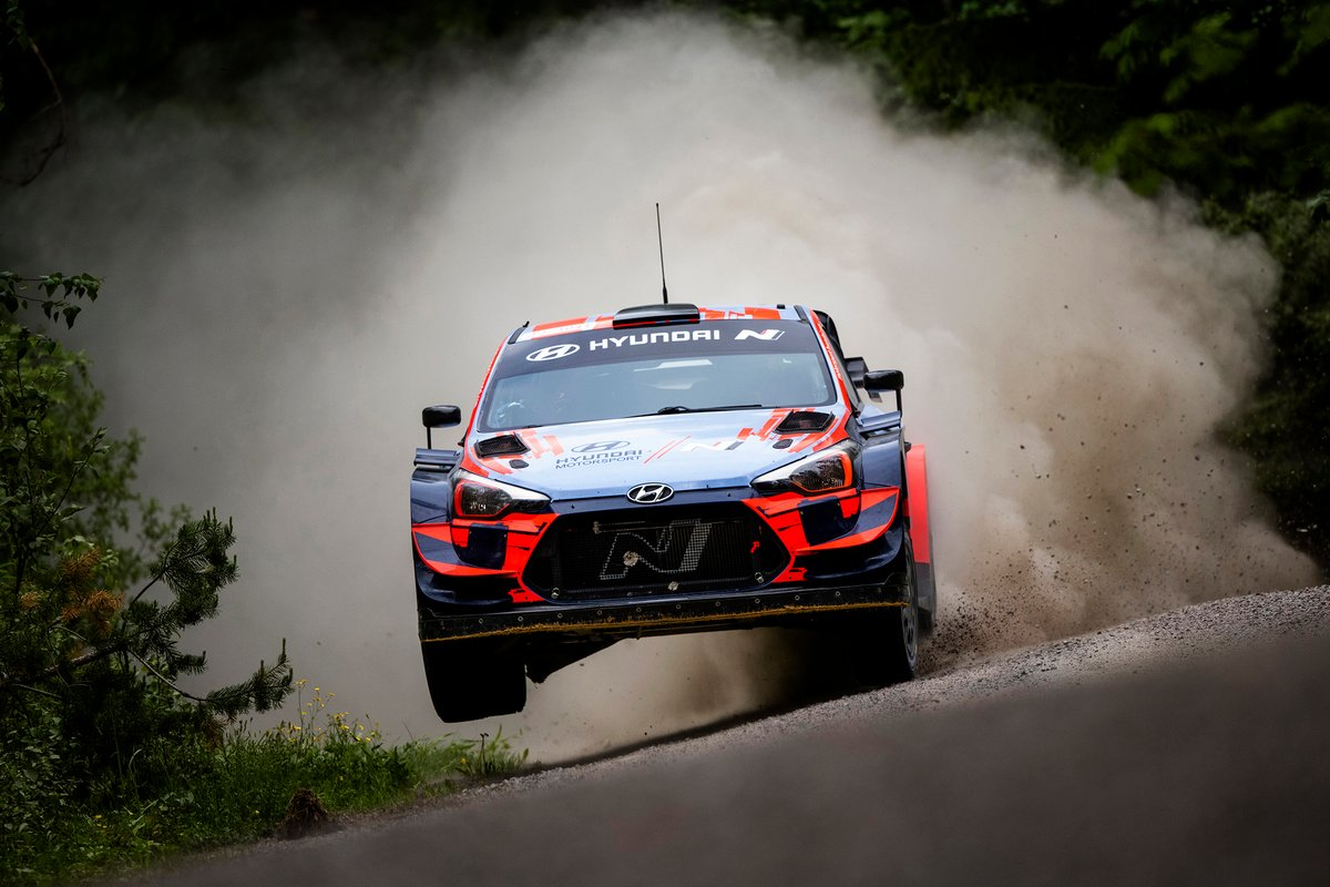 Thierry Neuville and Ott Tänak, Hyundai i20 Coupe WRC