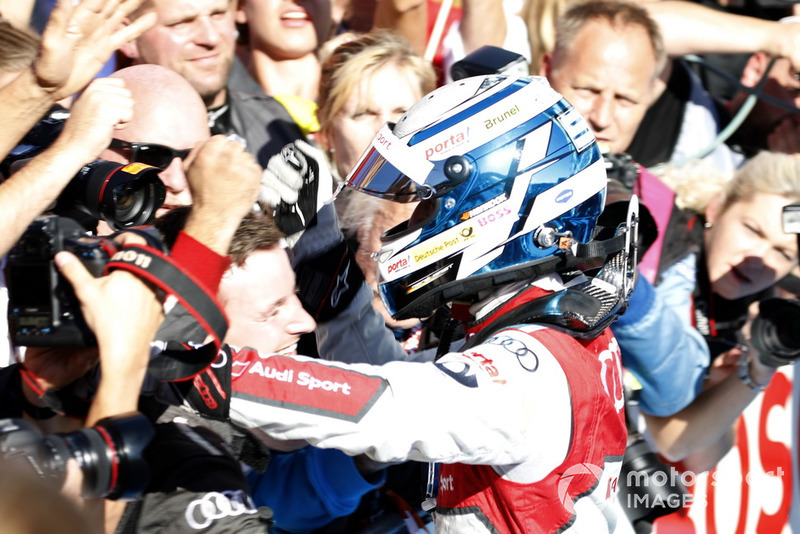 Ganador de la carrera René Rast, Audi Sport Team Rosberg