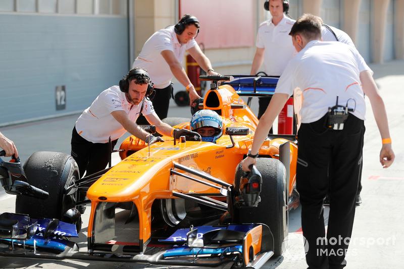 Autotausch zwischen Alonso & Johnson