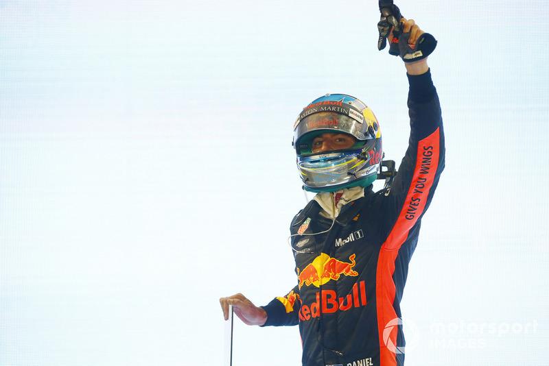 13: Daniel Ricciardo - Formula 1 altıncısı