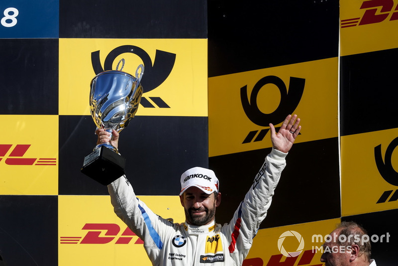 Podio: tercer lugar Timo Glock, BMW Team RMG