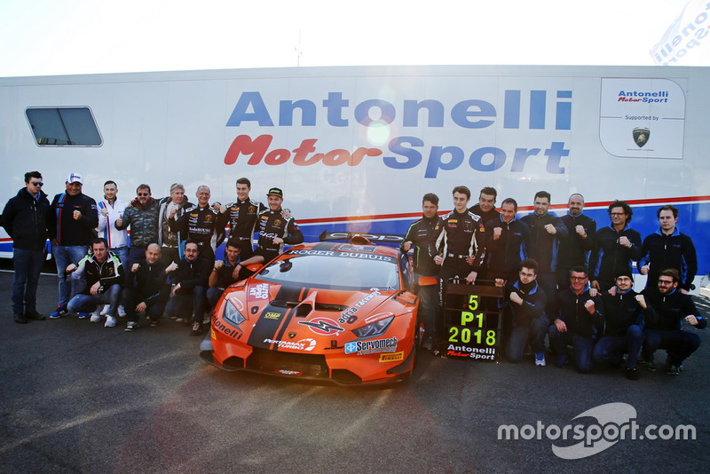 Pole Antonelli Motorsport