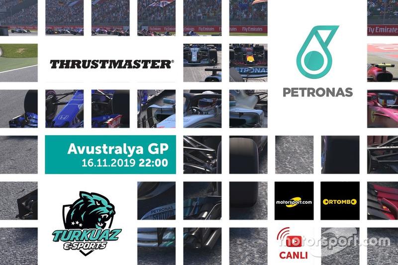 Petronas F1 2018 Türkiye Şampiyonası Avustralya GP