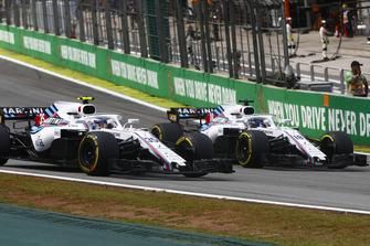 Сергій Сироткін, Williams FW41, та Ленс Стролл, Williams FW41