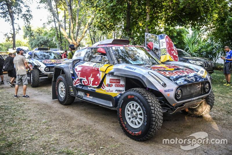 #309 X-Raid Mini John Cooper Works Buggy Team: Cyril Despres, Colet