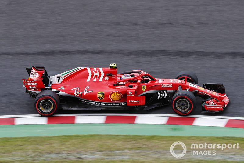 Кімі Райкконен, Ferrari SF71H.