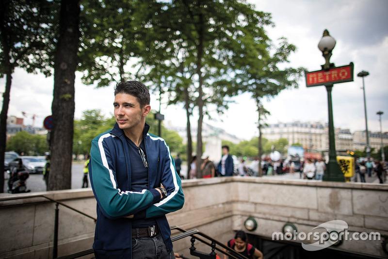 Esteban Ocon Paris visit