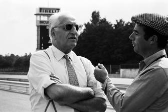 Enzo Ferrari et Bernard Cahier