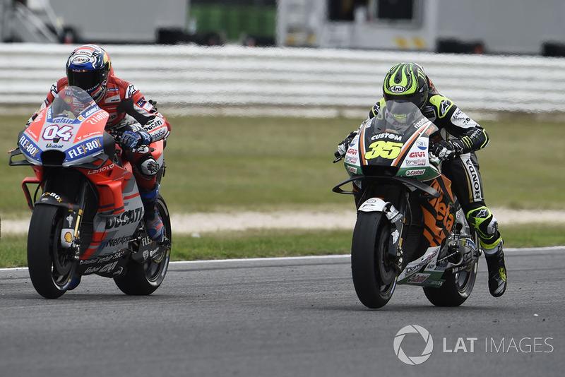 Кел Кратчлоу, Team LCR Honda, Андреа Довіціозо, Ducati Team, тренують старт