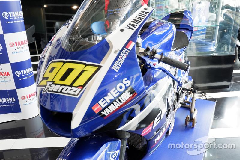 Motor balap AP250, M Faerozi, Yamaha Racing Indonesia