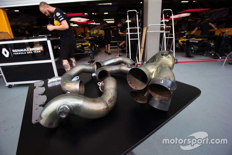 Exhaust of Renault Sport F1 Team