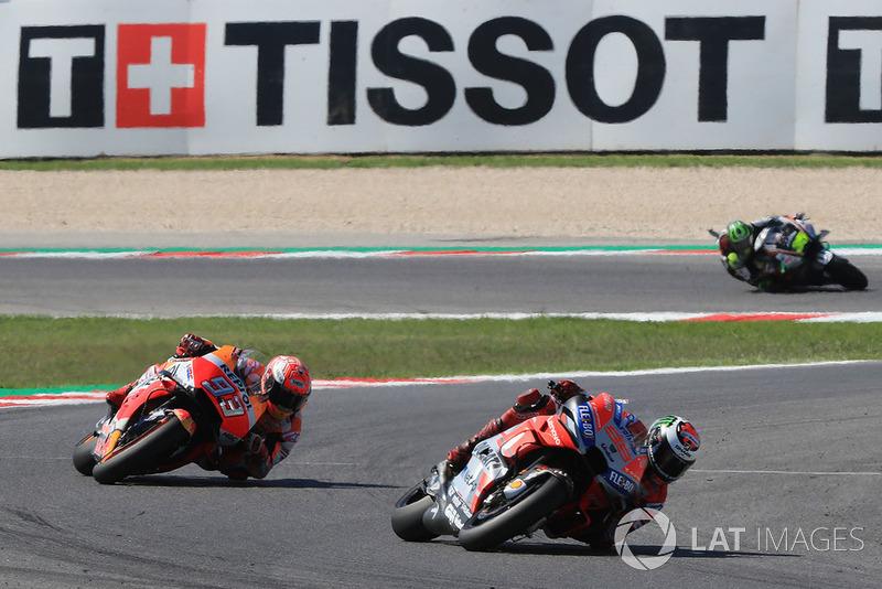 Хорхе Лоренсо, Ducati Team, Марк Маркес, Repsol Honda Team