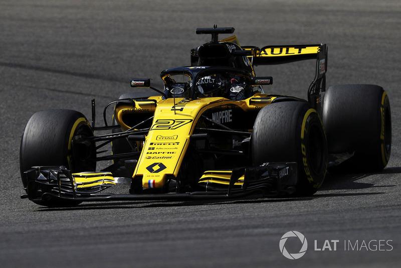 18. Nico Hülkenberg, Renault Sport F1 Team R.S. 18*