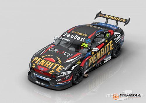 Kelly Grove Racing Gen3 renders