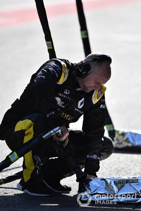 Mecánico de Renault Sport F1 Team