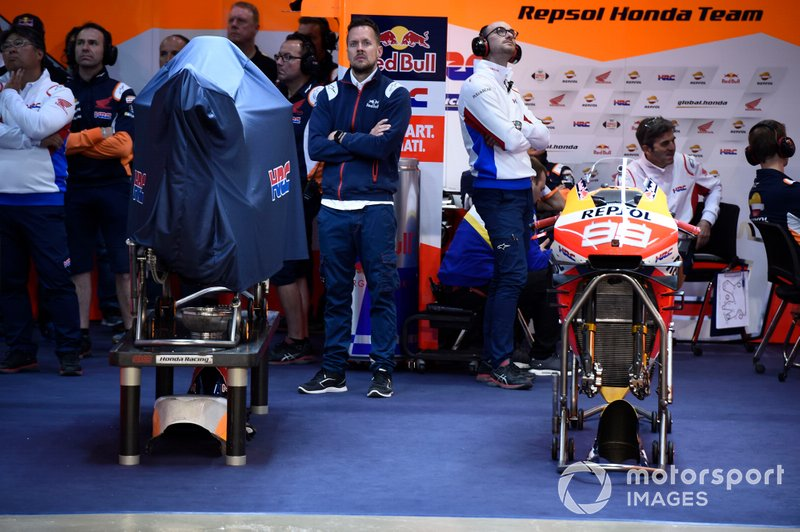 Il garage di Jorge Lorenzo, Repsol Honda Team