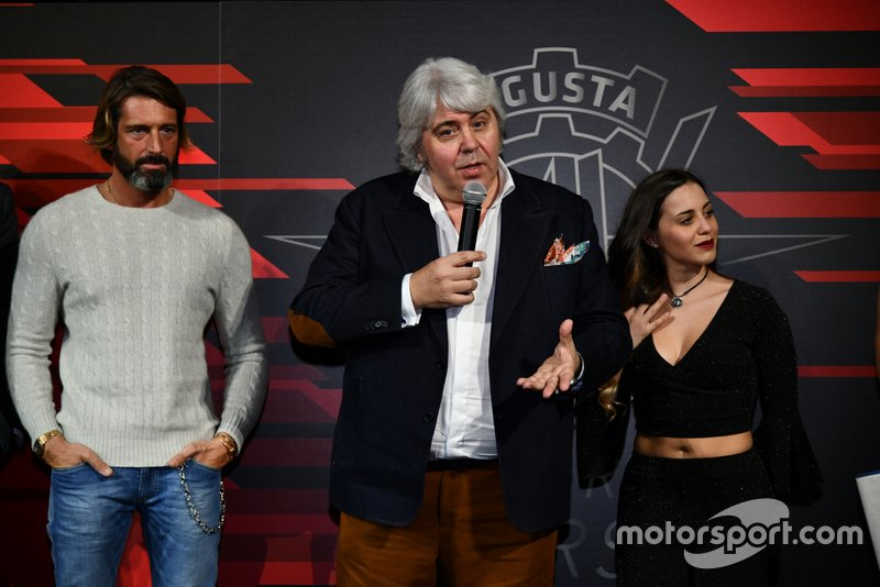 Giovanni Castiglioni, Giovanni Cuzari, MV Agusta Forward Racing