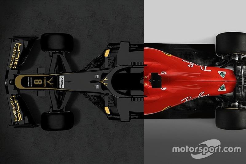 Haas VF-19 проти Ferrari SF71H