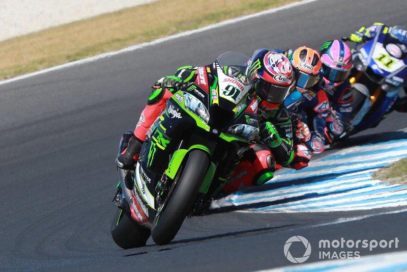 Леон Хеслем, Kawasaki Racing