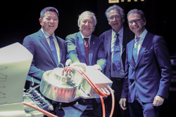 The presentation of electric powerboat engine at UIM Gala