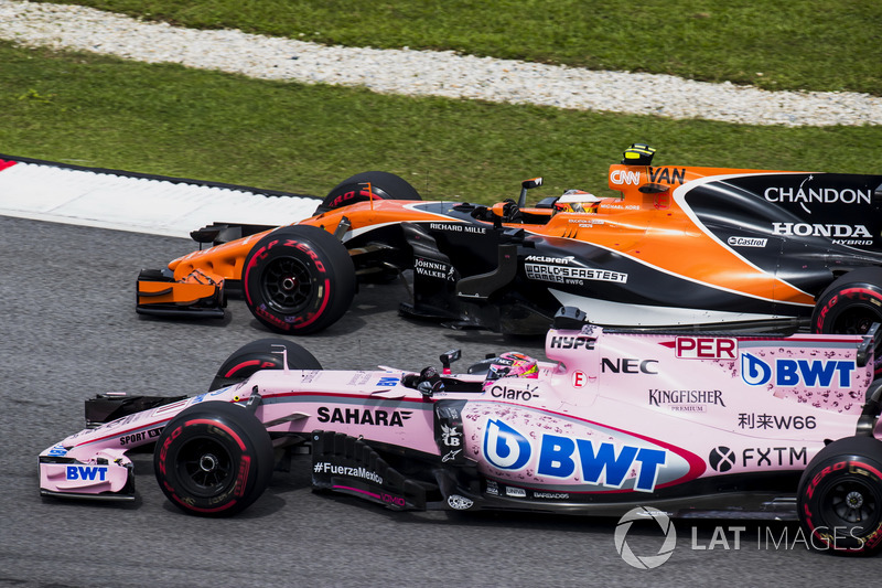 6e : Sergio Pérez (Force India)