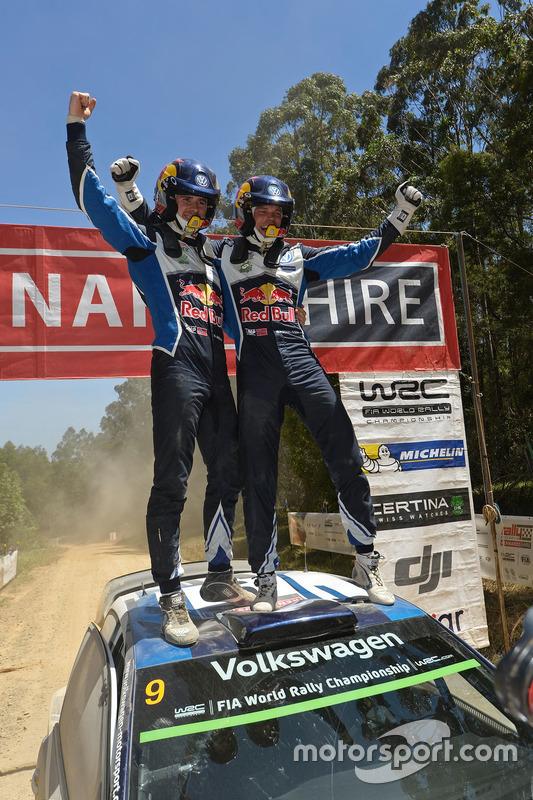 1. Andreas Mikkelsen, Anders Jäger, Volkswagen Polo WRC, Volkswagen Motorsport