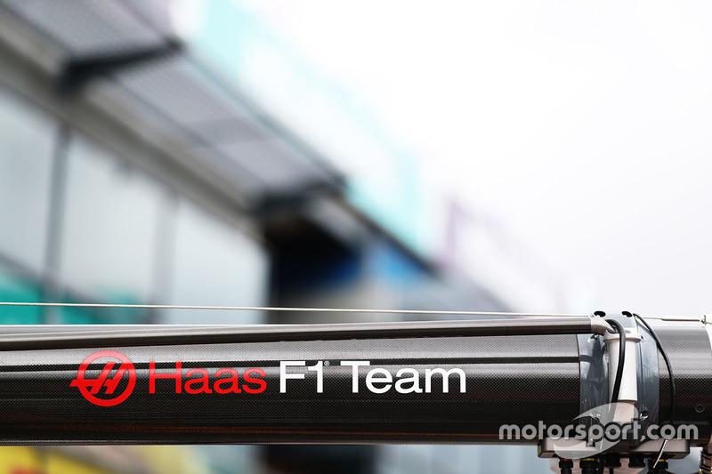 Boxenanlage von Haas F1 Team