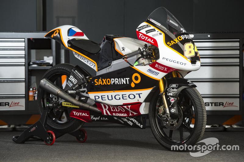 Bike von Jakub Kornfeil, Peugeot MC Saxoprint