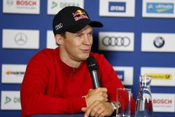 Conferencia de prensa, Mattias Ekström, Audi Sport Team Abt Sportsline, Audi A5 DTM