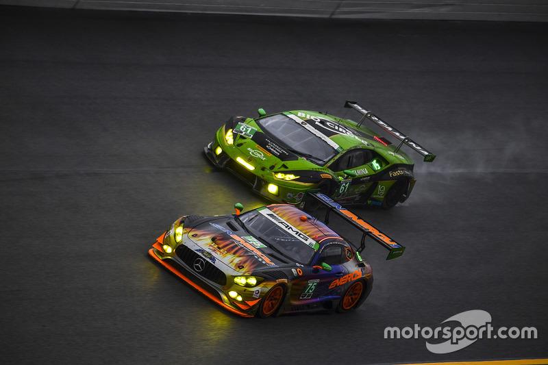 #75 SunEnergy1 Racing Mercedes AMG GT3: Boris Said, Tristan Vautier, Kenny Habul, Maro Engel