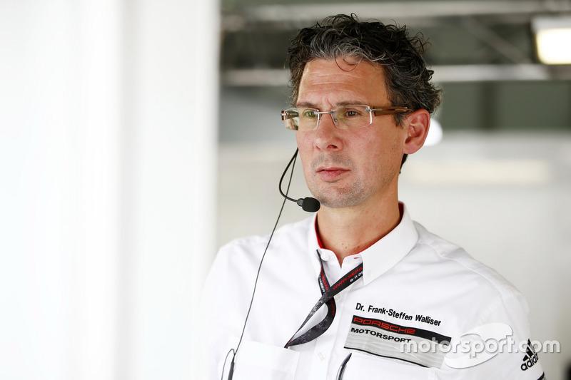 Dr. Frank-Steffen Walliser, Head of Porsche Motorsport