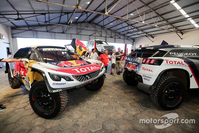 Peugeot Sport scrutineering