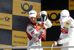 Podium: Mattias Ekström, Audi Sport Team Abt Sportsline, Audi A5 DTM